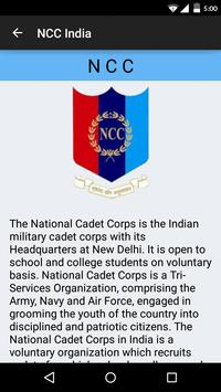 NCC India poster