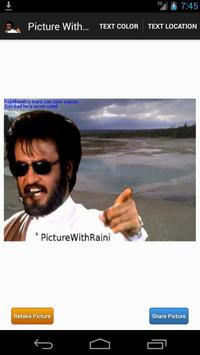 Picture With Rajni poster