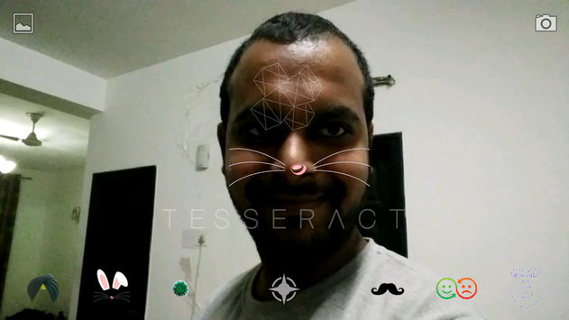 Tesseract - Face Lenses screenshot 3