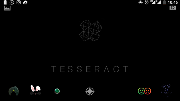 Tesseract - Face Lenses poster
