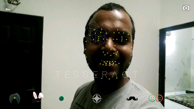 Tesseract - Face Lenses screenshot 1