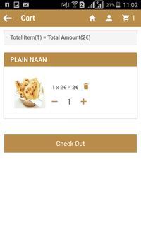 Saffron Fusion Indian Kitchen apk screenshot