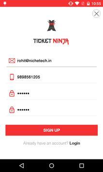 Ticket Ninja screenshot 16