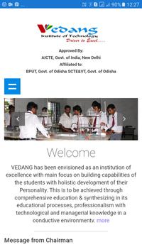 Vedang Institute of Technology poster