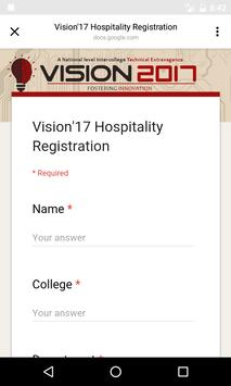 Vision'17 screenshot 4