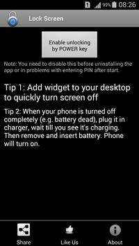 Lock Screen apk screenshot