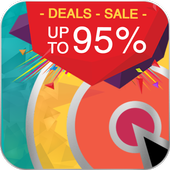 inagrab- Deals, best buy, flash sale, shopping app icon