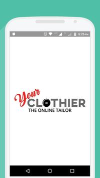 Online Wedding Tailoring and Rent poster
