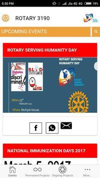 Rotary District 3190 V 3.0 screenshot 4