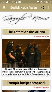 EnglishNews apk screenshot
