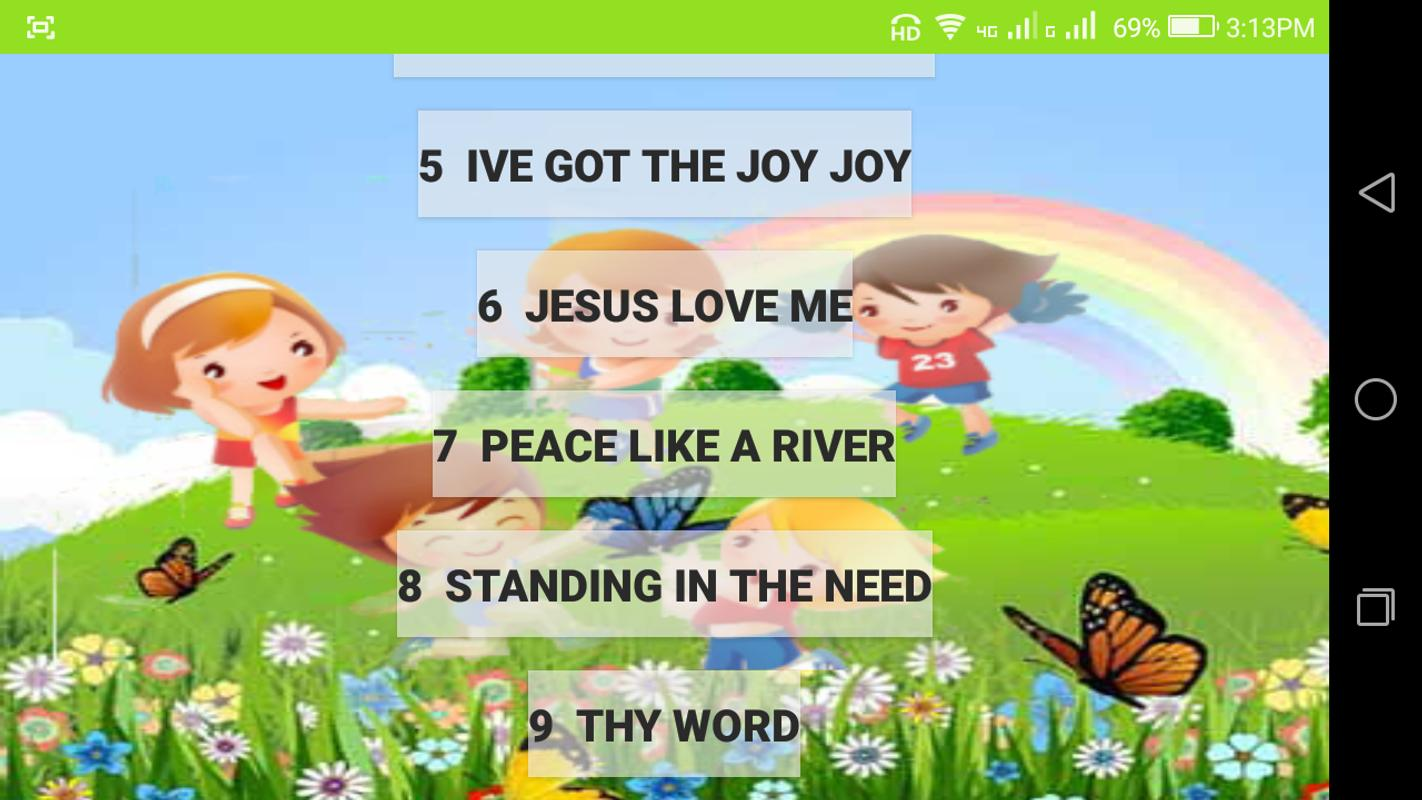 Bible Songs For Kids APK Download - Free Education APP for Android ...