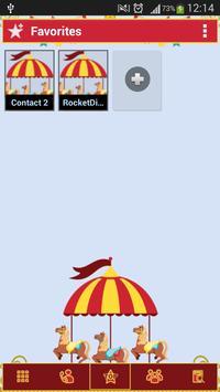 RocketDial Circus screenshot 1