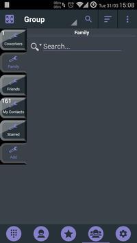 Theme x RocketDial DroidL Purp screenshot 6