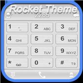 RocketDial Theme C Silver(HD) icon