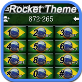 RocketDial Theme Brazil icon