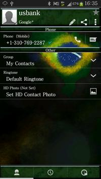 RocketDial Theme Brazil screenshot 1