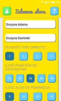 Zakazane słowa apk screenshot