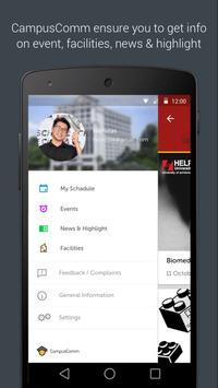 CampusComm@Help University apk screenshot