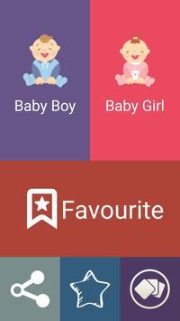 International Baby Names poster