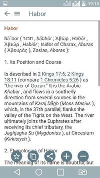 Bible Encyclopedia & Holy Bible screenshot 2