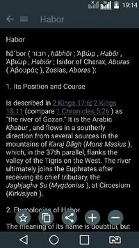 Bible Encyclopedia (ISBE) apk screenshot