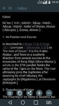 Bible Encyclopedia & Holy Bible screenshot 7