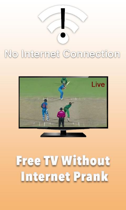 Free TV Without Internet Prank for Android - APK Download
