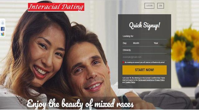 ... Interracial Casual Dating screenshot 9 ...