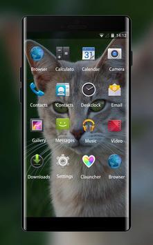Theme for Intex Cloud 4G Smart Cat Wallpaper screenshot 1