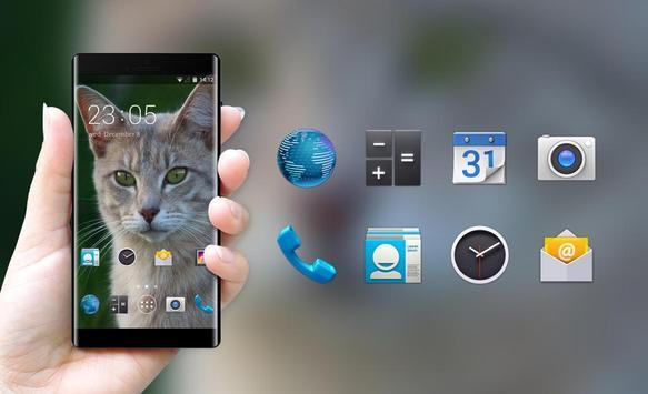 Theme for Intex Cloud 4G Smart Cat Wallpaper screenshot 3