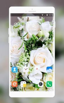 Theme for Intex Aqua V2 Bouquet Wallpaper poster