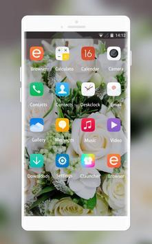 Theme for Intex Aqua V2 Bouquet Wallpaper screenshot 1
