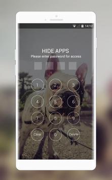 Theme for Intex Aqua Y3 bulldog Wallpaper screenshot 2