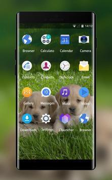 Theme for Intex Aqua Desire HD Puppy Wallpaper apk screenshot
