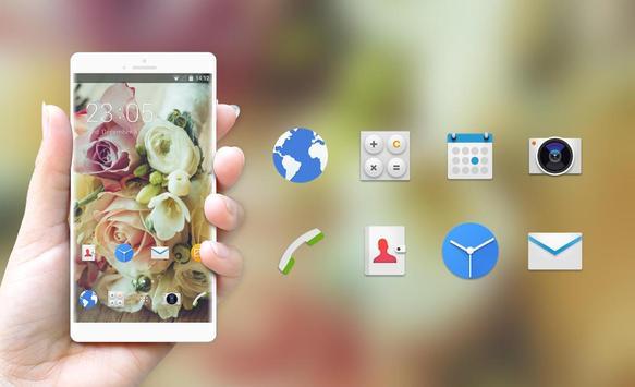 Theme for Intex Aqua Star L Flowers Wallpaper screenshot 3