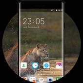 Theme for Intex Aqua 5X Animal Wallpaper icon