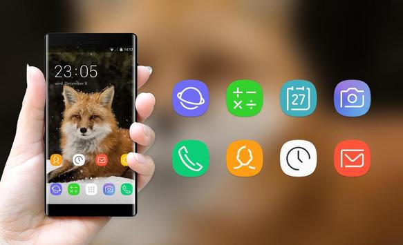 Theme for Intex Aura Plus Fox Wallpaper screenshot 3