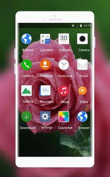 Theme for Intex Killer Rose Wallpaper screenshot 1