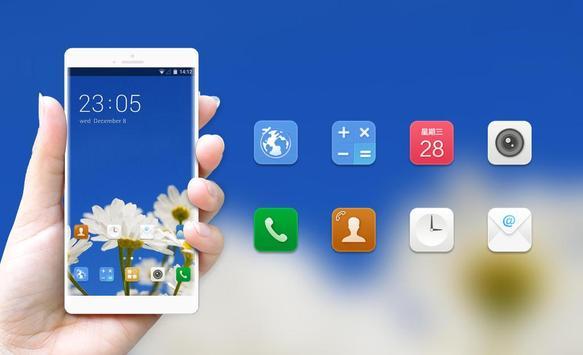Theme for Intex U AA Power Daisy Wallpaper apk screenshot