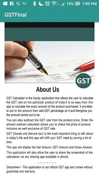 GST Calculator poster