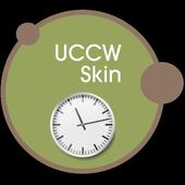 Wall clock UCCW skin icon