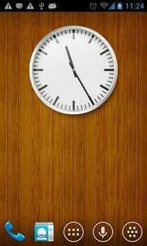 Wall clock UCCW skin apk screenshot