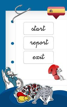 Learn SPANISH with Words FREE poster