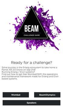 Beam Challenge poster