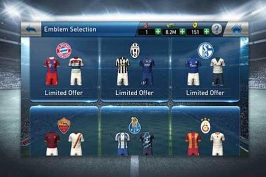 New PES Club Manager 2017 tips apk screenshot