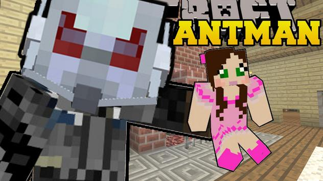 Skin Ant Man for minecraft poster