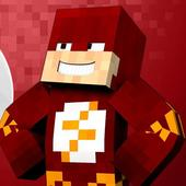 Skin The Flash for minecraft icon