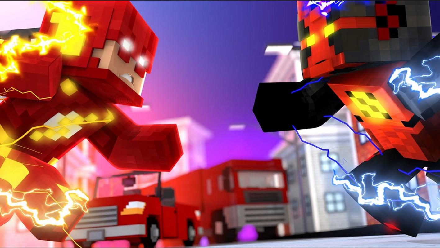 Skin The Flash For Minecraft For Android APK Download - Skins fur minecraft alphastein