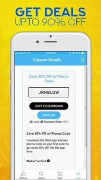 Code Coupons For Shopping & Deals screenshot 3