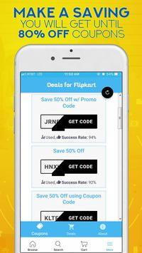Code Coupons For Shopping & Deals screenshot 1